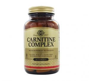 Карнитин Комплекс х60 таблетки – SOLGAR