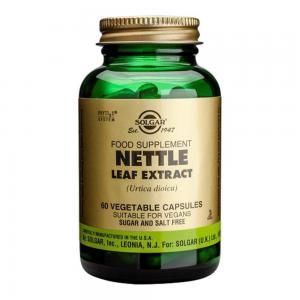 Екстракт от Листа на Коприва / Nettle Leaf Extract х60 растителни капсули – SOLGAR