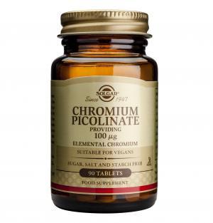 Хром Пиколинат 100 μg / Chromium Picolinate 100 μg х90 таблетки – SOLGAR