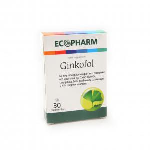 ГИНКОФОЛ / GINKOFOL таблетки 60 мг х 30 – Ecopharm
