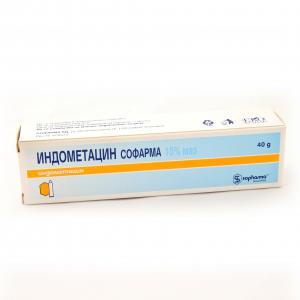 ИНДОМЕТАЦИН / INDOMETHACIN маз 10% х 40 гр. – Sopharma