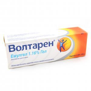 ВОЛТАРЕН емулгел 1% / VOLTAREN emulgel х 100 гр – Novartis