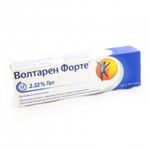 ВОЛТАРЕН ФОРТЕ гел 2.32% / VOLTAREN FORTE gel х 50гр – Novarits