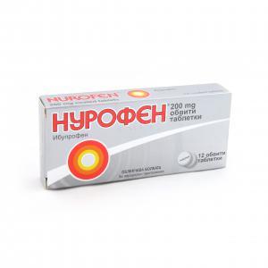 НУРОФЕН / NUROFEN таблетки 200 мг х 12- Reckitt Benckiser Healthcare