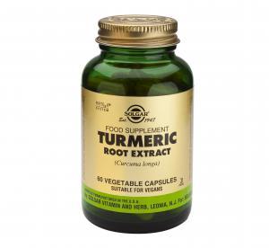 Екстракт от Корен на Куркума / Turmeric Root Extract х60 растителни капсули – SOLGAR