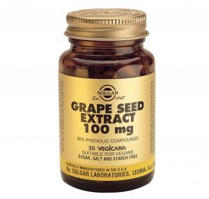 Екстракт от Гроздови Семки 100 мг х30 капсули – SOLGAR
