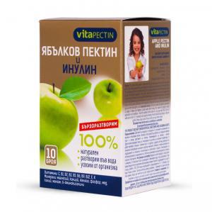 VitaPectin Ябълков пектин и инулин натурален x10 броя