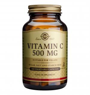 Витамин С 500 мг / Vitamin C 500 mg х100 растителни капсули – SOLGAR