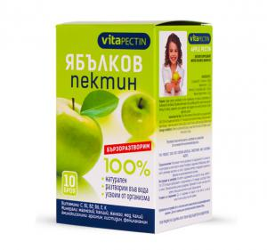 VitaPectin Ябълков пектин натурален x10 броя