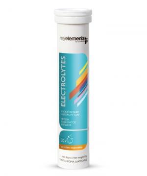 Електролити х20 ефервесцентни таблетки – Myelements