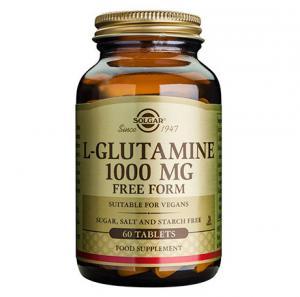 SOLGAR Л-Глутамин 1000 мг х60 таблетки