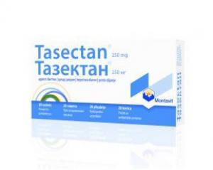 Тазектан при Диария за Кърмачета и Деца 250 мг / Tasectan 250 mg х20 сашета – Montavit