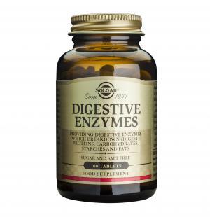 Храносмилателни Ензими / Digestive Enzymes х100 таблетки – SOLGAR
