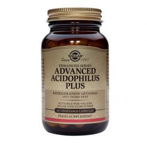 Адвансед Ацидофилус Плюс / Advanced Acidophilus Plus х60 растителни капсули  – SOLGAR