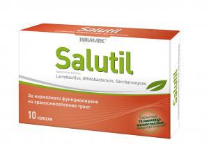 САЛУТИЛ / SALUTIL Пробиотик капсули x 10 – Walmark