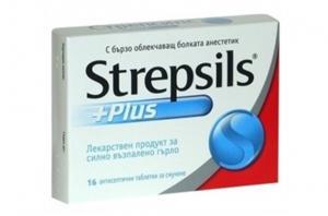 СТРЕПСИЛС ПЛЮС / STREPSILS PLUS тaб. х 16- Reckitt Benckiser Healthcare