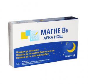 Магне B6 Лека Нощ при Безсъние / Magne B6 Sleep x30 капсули – Sanofi