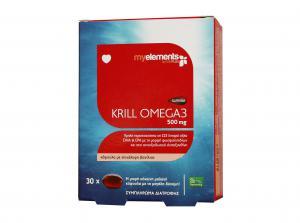Суперба Масло от Крил Омега 3 500 мг / Superba Krill Omega 3 500 mg х30 меки капсули – Myelements