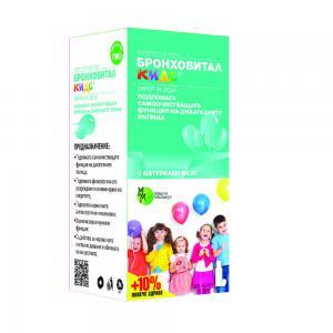 Бронховитал Кидс / Bronchovital Kids сироп за деца x 200 мл. – Мирта Медикус
