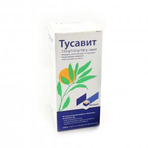 ТУСАВИТ /  TUSSAVIT сироп за кашлица х 250гр – Montavit