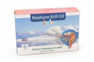 Нептун Крил Ойл Кидс / Neptune Krill Oil Kids х60 капсули – Herbamedica