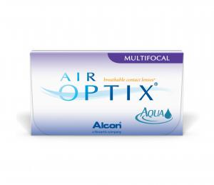 AIR OPTIX AQUA Multifocal едномесечни силикон-хидрогелни лещи за корекция на пресбиопия- Alcon