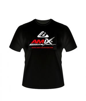 Амикс Спортна Тениска Черна / Amix T-Shirt Black