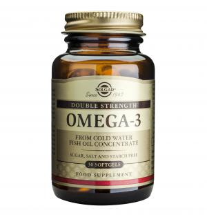 Омега-3 Двойно Подсилен / Omega-3 Double Strength х30 меки капсули – SOLGAR
