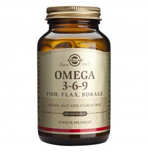 Омега 3-6-9 / Omega 3-6-9 х60 меки капсули – SOLGAR