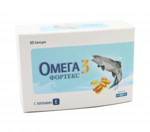ОМЕГА 3 ФОРТЕКС / OMEGA 3 FORTEX капсули 500 мг x 60 бр.- Фортекс