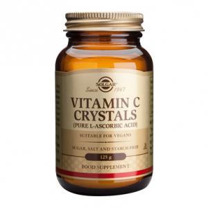 Витамин С на Кристали х125 г – SOLGAR