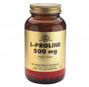 Л-Пролин 500мг х100 капсули – SOLGAR