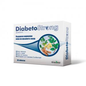 ДИАБЕТОСТРОНГ / DIABETOSTRONG таблетки x 30 – Herba Von