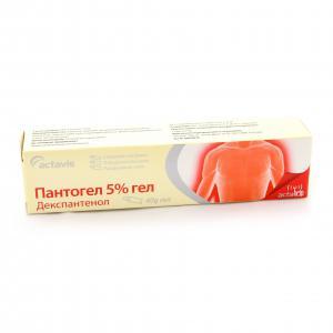 ПАНТОГЕЛ гел  / PANTOGEL gel 5%  х 40гр – Actavis