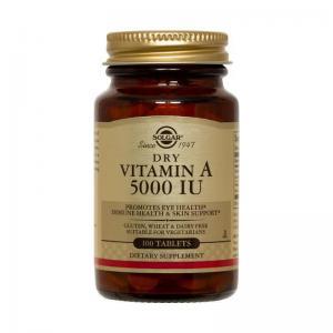Витамин А 5000 IU х100 таблетки – SOLGAR
