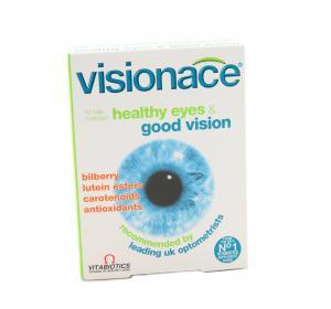 ВИЖЪНЕЙС Витамини за очи / VISIONACE Vitamins for eyes капсули х 30 – Vitabiotics