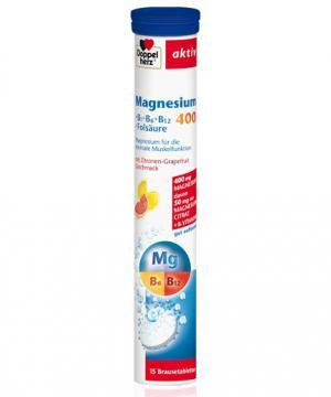 Допелхерц актив Магнезий 400 + В витамини х15 таблетки