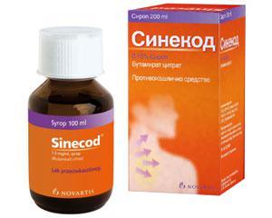 СИНЕКОД сироп / SINECOD syrup х200 мл – Novartis