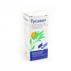 ТУСАВИТ /  TUSSAVIT сироп за кашлица х 125гр – Montavit