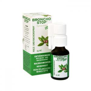 Бронхостоп Спрей / Bronchostop Spray х15 мл – Kwizda Pharma GmbH