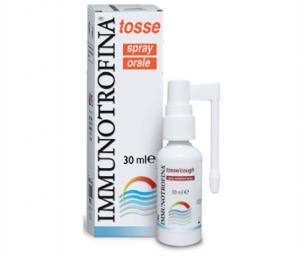 Имунотрофина / Immunotrofina перорален спрей за суха кашлица- 30 мл.- DMG