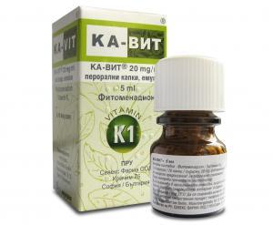 КА-ВИТ / KA-VIT х 5мл – Sevex Pharma