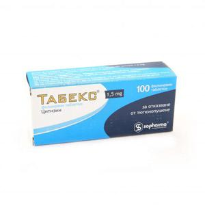 ТАБЕКС / TABEX таблетки 1.5 мг x 100- Sopharma