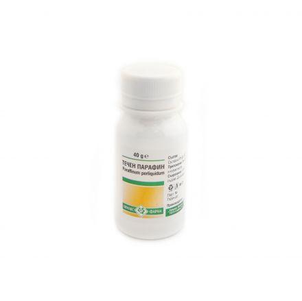 Описание  ТЕЧЕН ПАРАФИН на фармацевтината компания Chemax Pharma е продукт със слабителен ефект, който се използва за краткотрайно лечение на хроничен запек.      Търсете нашите Промоционални Предложения в нашата онлайн аптека за красота и здраве!  Нашият квалифициран магистър- фармацевт ще Ви даде компетентна консултация, за да изберете най- подходящите за Вас и Вашето семейство продукти! Може да му пишете всеки делничен ден между 09:00 и 18:00 часа!