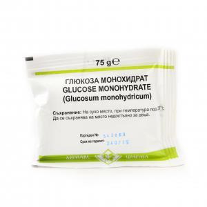 ГЛЮКОЗА монохидрат / GLUCOSE monohydrate саше x 75гр. – Chemax Pharma