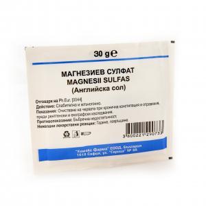 МАГНЕЗИЕВ СУЛФАТ / MAGNESIUM SULFATE саше x 30гр – Chemax Pharma