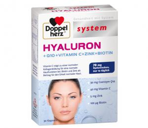 ДОПЕЛХЕРЦ Систем Хиалурон /  DOPPELHERZ System Hyaluron х 30 капсули- QUEISSER Pharma
