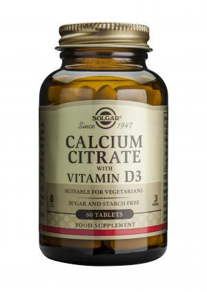 Калциев Цитрат с Витамин D3 x60 таблетки – SOLGAR