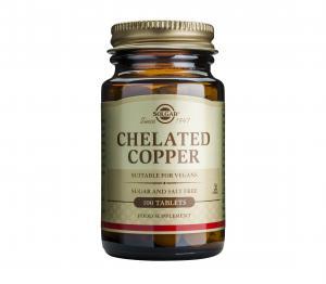 Хелатиран Мед / Chelated Copper х100 таблетки – SOLGAR