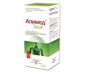 АПИМЕД ТУСИК / APIMED TUSIK сироп x 100 мл- Apipharma